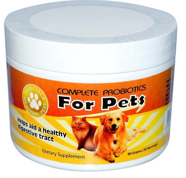 complete probiotics pets mercola 1 - Full Probiotics for Pets (90 g) - Dr. Mercola
