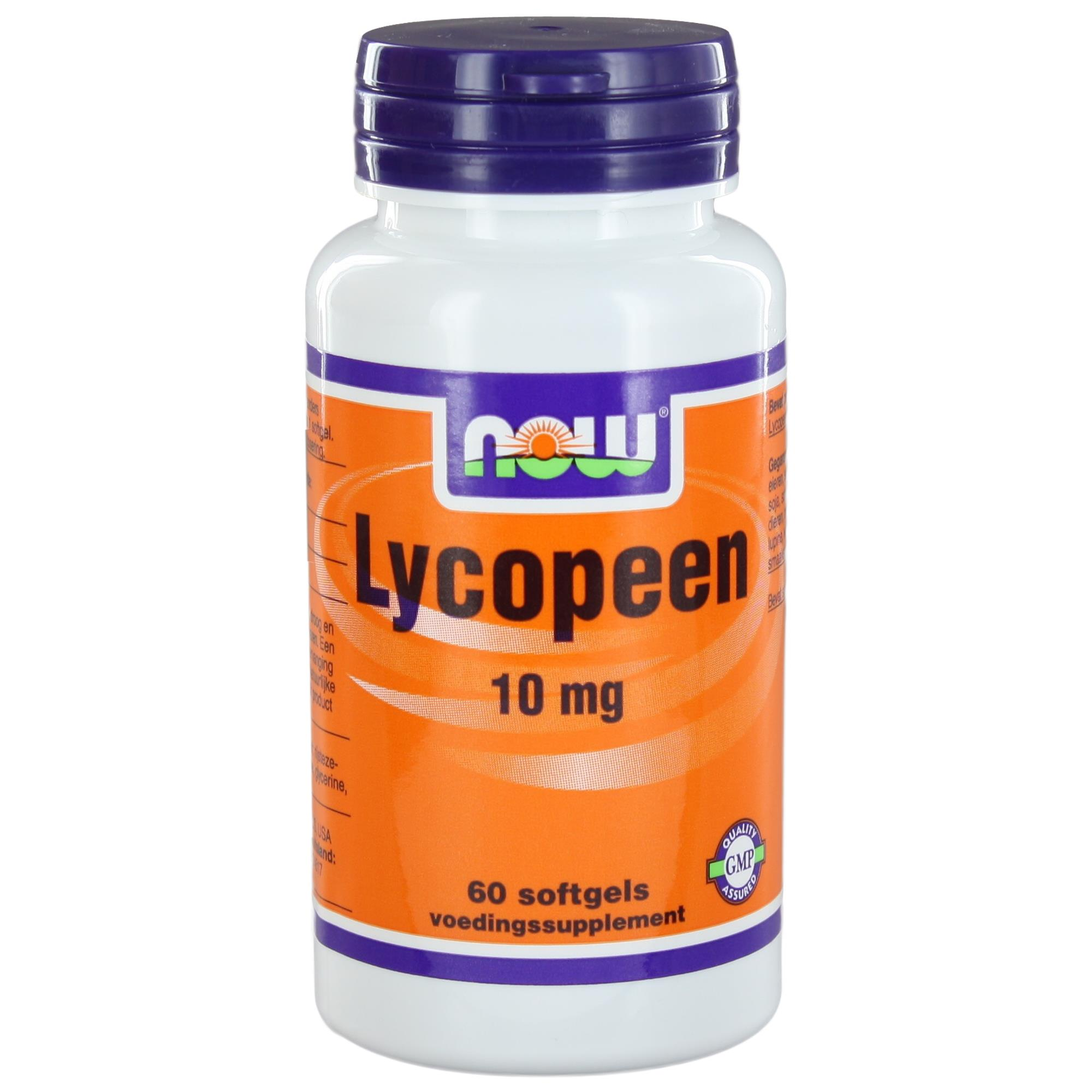 img 2110 - Lycopeen 10 mg (60 softgels) - NOW Foods