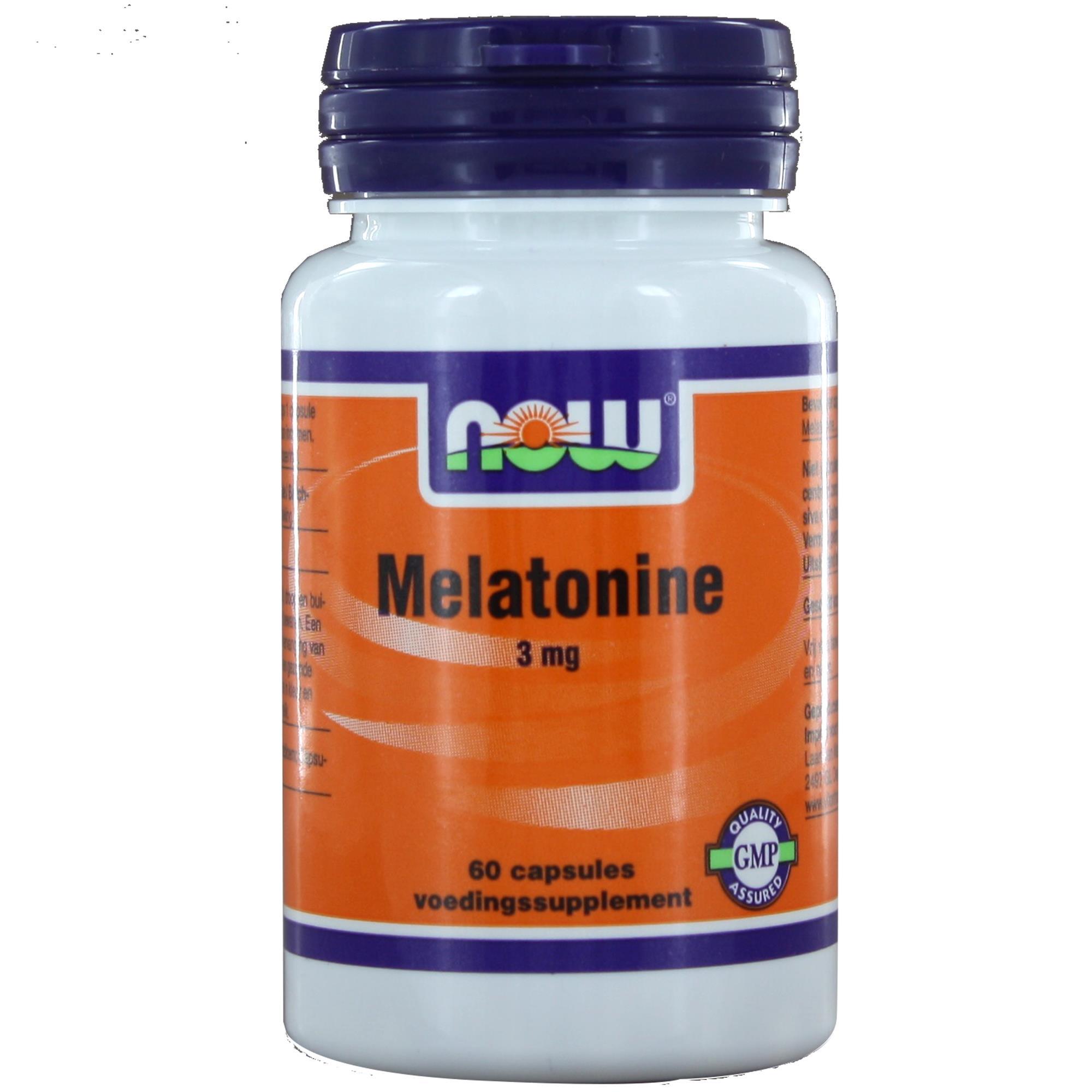 img 8916 - Melatonine 3 mg (60 caps) - NOW Foods
