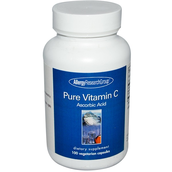 2 32 - Zuivere Vitamin C 100 Veggie Caps - Allergy Research Group