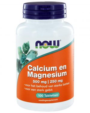 6230 7 300x375 - Calcium 500 mg en Magnesium 250 mg (100 tabs) - NOW Foods