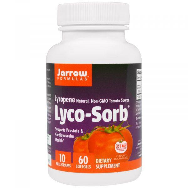 JRW 12012 11 1 600x600 - Lyco-Sorb lycopeen 10 mg (60 gelcapsules) - Jarrow Formulas
