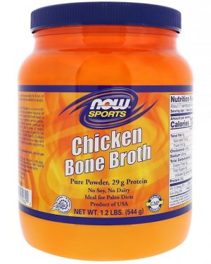 chicken bone broth 544 gram   now foods1 300x375 - Chicken Bone Broth (544 gram) - Now Foods
