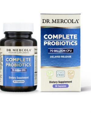 mercola probiotics 30 300x375 - Complete Probiotica, 70 miljard CFU's (30 Capsules) - Dr. Mercola