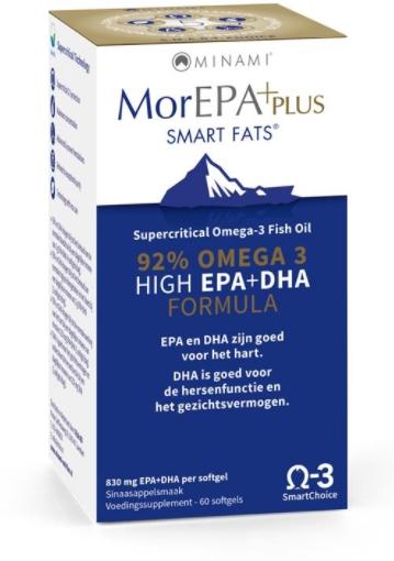 mor epa plus minami - MorEPA Plus (60 Capsules) - Minami