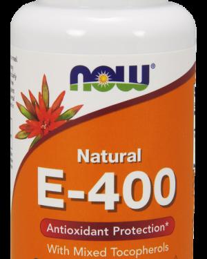 0892 1  300x375 - Vitamin E-400 IU (100 Softgels) - Now Foods