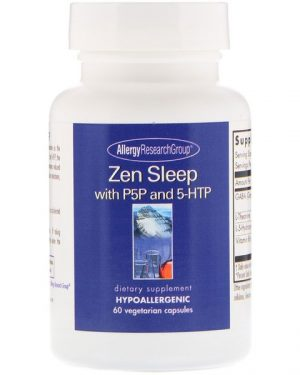 0 18 300x375 - Zen with P5P and 5-HTP 60 Vegetarian Capsules - Allergy Research Group