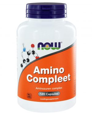 1001 300x375 - Amino Compleet (120 caps) - NOW Foods