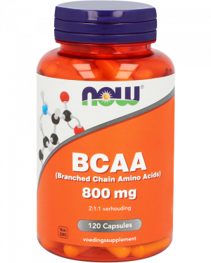1041 300x375 - BCAA 800 mg (Branched Chain Amino Acids) (120 caps) - NOW Foods