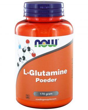 1071 300x375 - L-Glutamine Poeder (170 gram) - NOW Foods