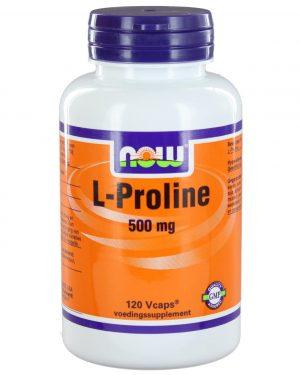 1105 300x375 - L-Proline 500 mg (120 vegicaps) - NOW Foods
