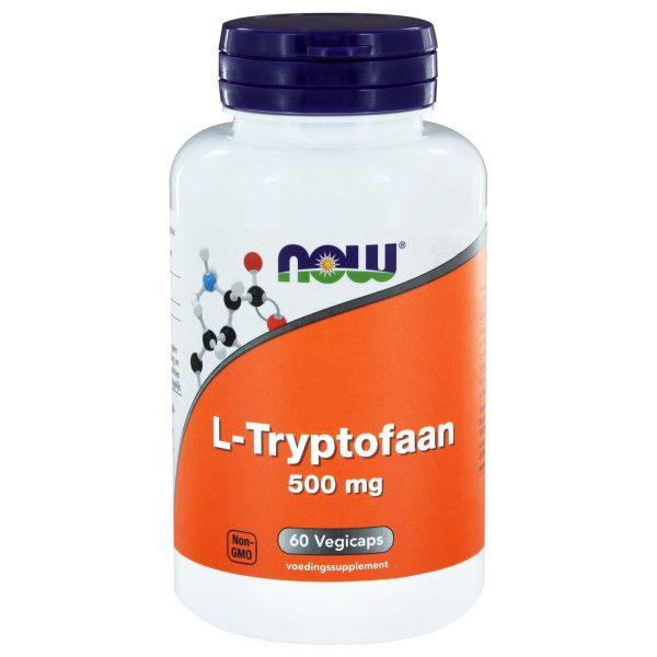 1126 600x600 - L-Tryptofaan 500 mg (60 vegicaps) - NOW Foods