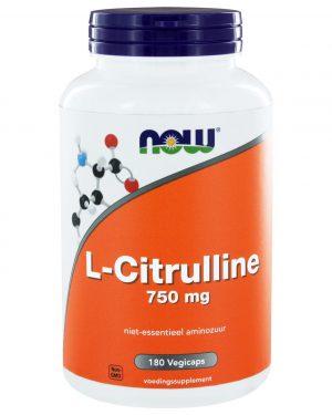 1132 300x375 - L-Citrulline 750 mg (180 vegicaps) - NOW Foods