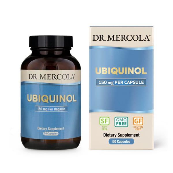 18 1989 product primary image - Ubiquinol 150 mg 90 Capsules - Dr. Mercola