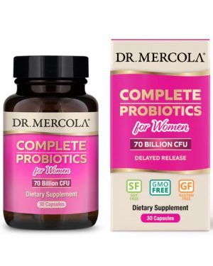 18 2311 Product Primary Image 300x375 - Complete Probiotics for Women (70 Billion CFU) (30 Capsules) - Dr. Mercola