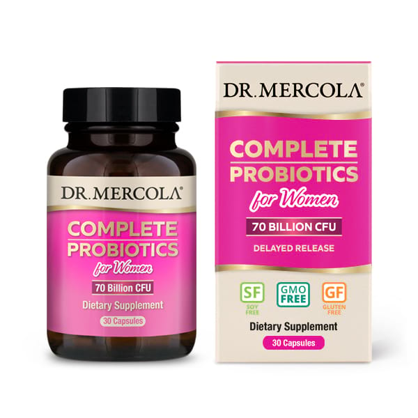 18 2311 Product Primary Image - Complete Probiotics for Women (70 Billion CFU) (30 Capsules) - Dr. Mercola