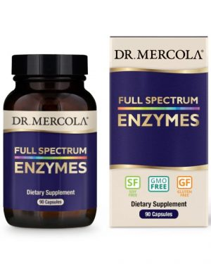 18 2424 Product Primary Image 300x375 - Full Spectrum Enzymes (90 Capsules) - Dr. Mercola