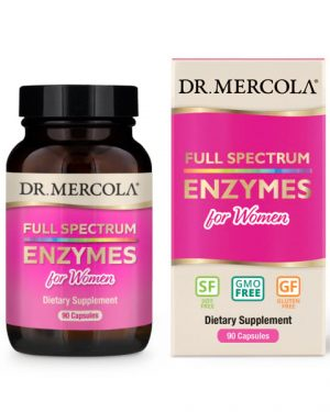18 2425 Product Primary Image 300x375 - Full Spectrum for Women Enzymes (90 Capsules) - Dr. Mercola