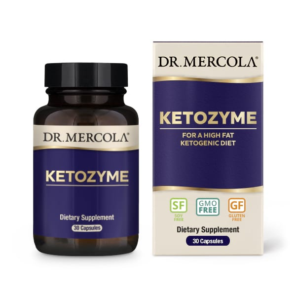 18 2429 Product Primary Image - Ketozyme (30 Capsules) - Dr. Mercola