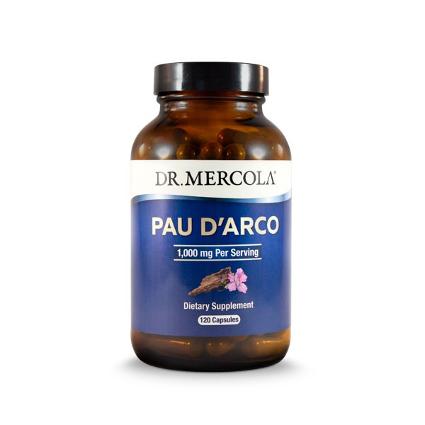 18 2562 product primary image - Pau d'Arco 1000mg 120 Capsules - Dr Mercola
