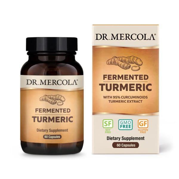 18 2634 product primary image - Fermented Turmeric 60 Capsules - Dr. Mercola