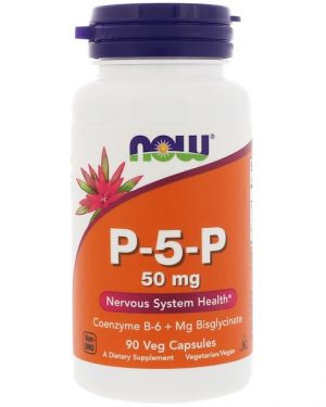 1 19 300x375 - P-5-P- 50 mg (90 Vegetarian Capsules) - Now Foods