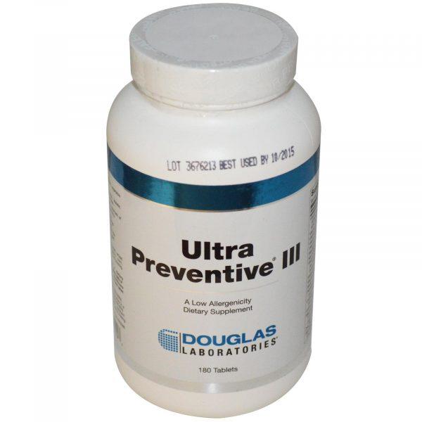 1 1 6 600x600 - Douglas Laboratories,Ultra preventieve III (180 tabletten)