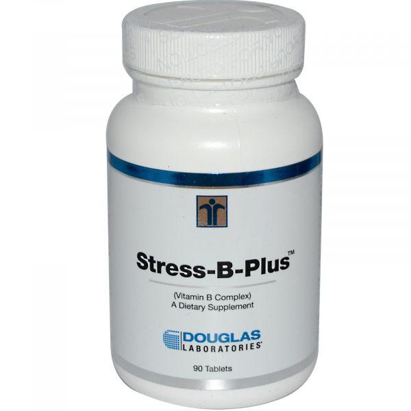 1 2 43 600x600 - Stress-B-Plus vitamine B-Complex (90 tabletten) - Douglas Laboratories