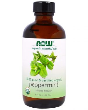 1 54 300x375 - Organic Essential Oils- Peppermint (118 ml) - Now Foods