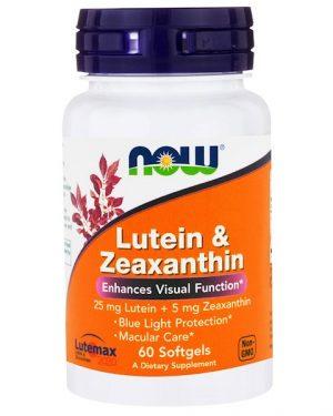 1 55 300x375 - Lutein & Zeaxanthin (60 softgels) - Now Foods