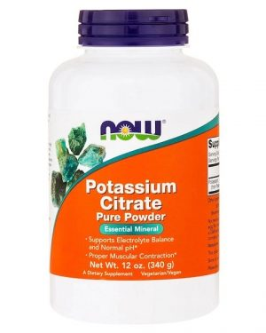 1 58 300x375 - Potassium Citrate Pure Powder (340 gram) - Now Foods