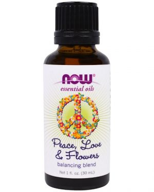 1 59 300x375 - Essential Oils- Peace- Love & Flowers- Balancing Blend (30 ml) - Now Foods