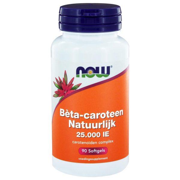 2035 600x600 - Bèta-caroteen Natuurlijk (90 softgels) - NOW Foods
