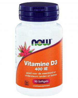 2401 300x375 - Vitamine D3 400 IE (90 softgels) - NOW Foods