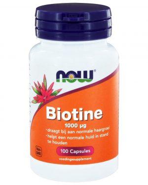 3270 300x375 - Biotine 1000 μg (100 caps) - NOW Foods