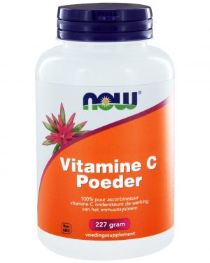 4010 300x375 - Vitamine C Poeder ascorbinezuur (227 gram) - NOW Foods
