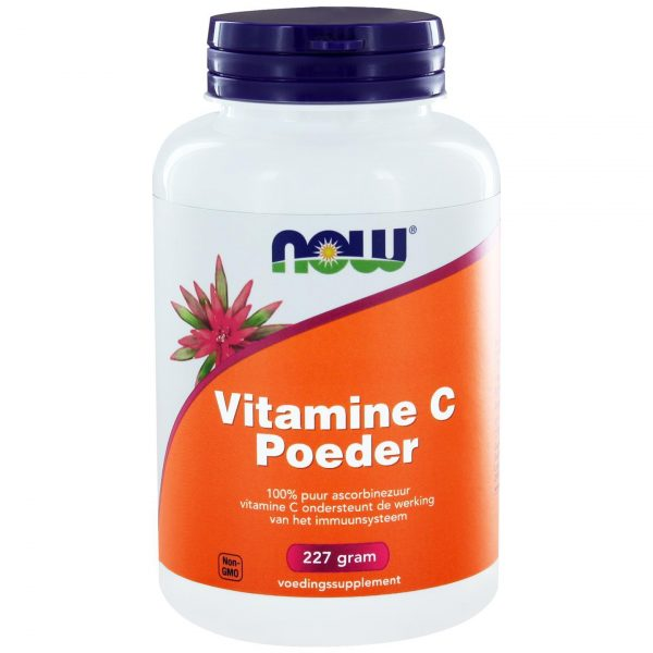 4010 600x600 - Vitamine C Poeder ascorbinezuur (227 gram) - NOW Foods