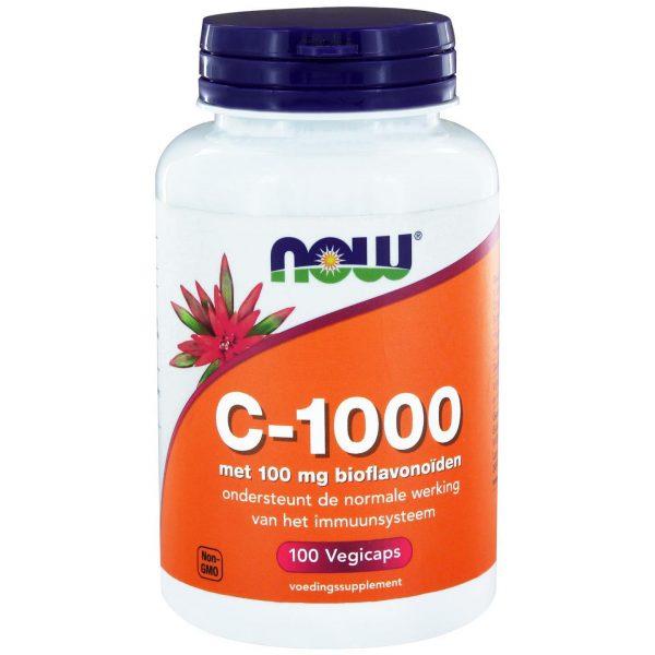 4240 600x600 - C-1000 Caps met 100 mg Bioflavonoïden (100 vegicaps) - NOW Foods