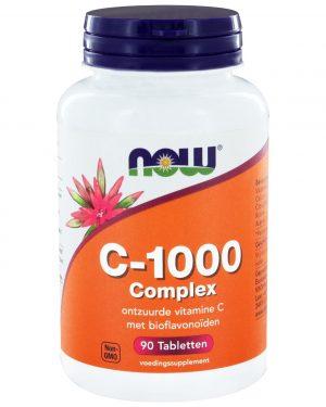 4250 300x375 - C-1000 Complex (90 tabs) - NOW Foods