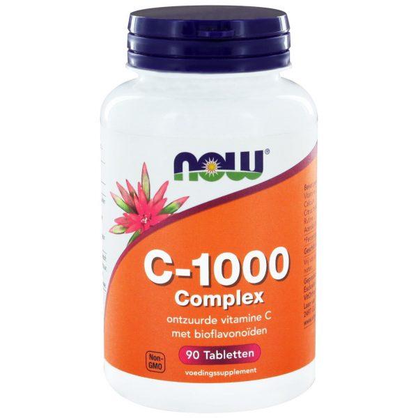 4250 600x600 - C-1000 Complex (90 tabs) - NOW Foods