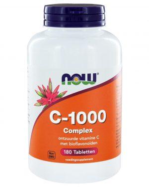 4251 300x375 - C-1000 Complex (180 tabs) - NOW Foods