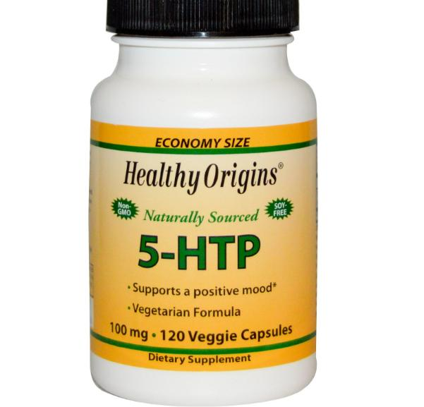 5 htp healthy origins 1 - Natuurlijke 5-HTP 100 mg (120 Capsules) - Healthy Origins