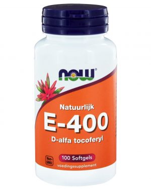 5041 300x375 - E-400 D-alfa tocoferyl (100 softgels) - NOW Foods