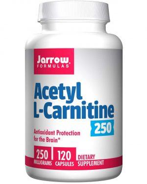 5 1 300x375 - Acetyl L-Carnitine 250 mg (120 Vegetarian Capsules) - Jarrow Formulas