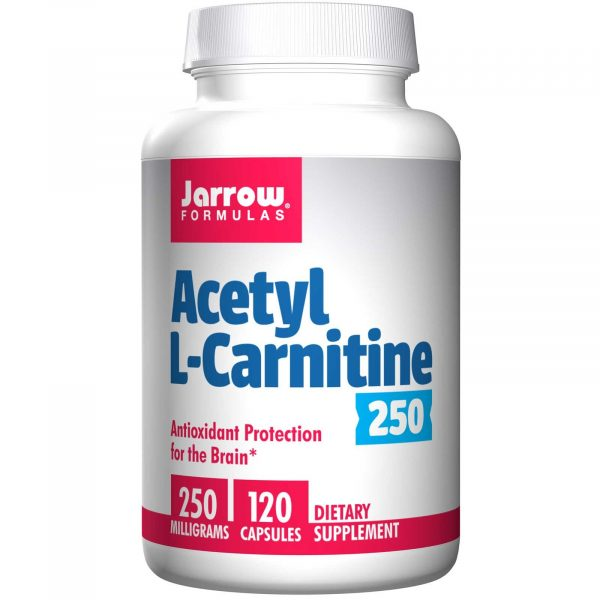 5 1 600x600 - Acetyl L-Carnitine 250 mg (120 Vegetarian Capsules) - Jarrow Formulas