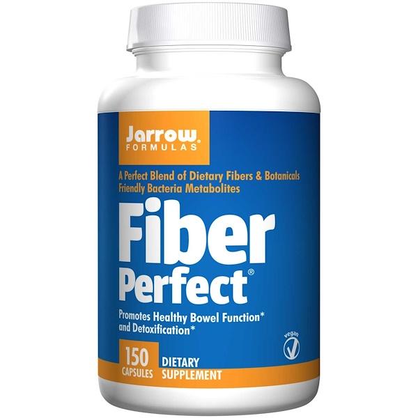 5 16 - Fiber Perfect (150 Vegetarian Capsules) - Jarrow Formulas