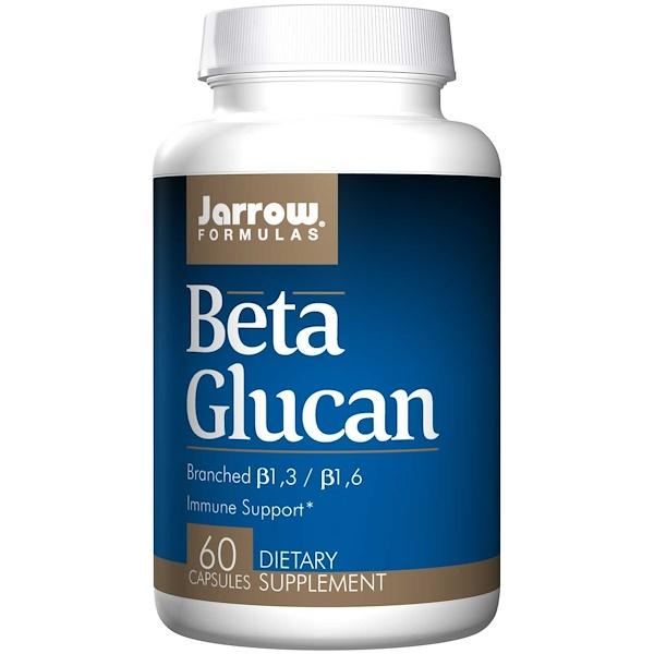 5 24 - Beta Glucan - Immune Support (60 Capsules) - Jarrow Formulas