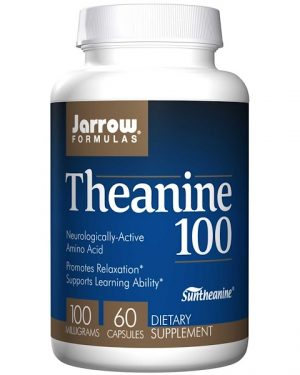 5 52 300x375 - Theanine 100 mg (60 Vegetarian Capsules) - Jarrow Formulas