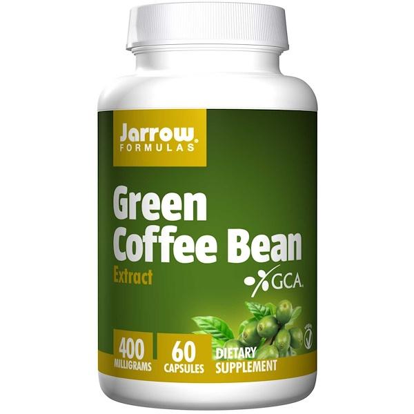5 8 - Green Coffee Bean Extract 400 mg (60 Vegetarian Capsules) - Jarrow Formulas