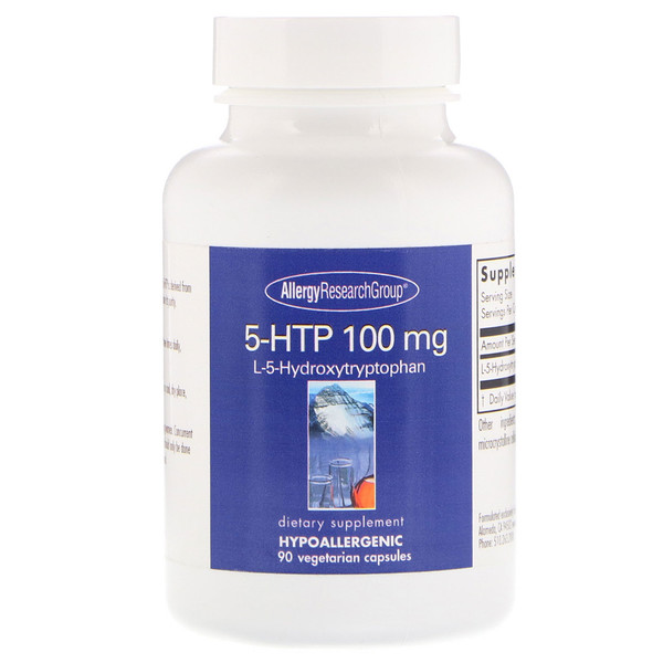 5htp 100 allergy - 5-HTP 50 mg 150 Vegetarian Capsules - Allergy Research Group